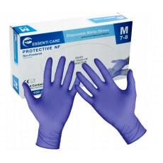 Rękawiczki Nitrylowe Mocne M 100