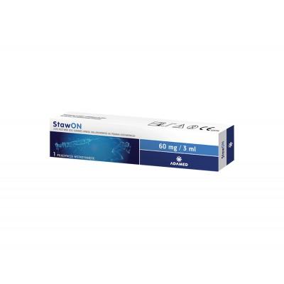 StawON 60mg/3ml  *DWUAPK* + 20 szt. maseczek medycznych